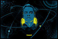 PROMETHEUS Tracie Ching SOLD OUT 2012 Ltd Ed Fluorescent Signed Print Not Mondo