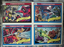 Marvel Universe Uncut Card Sheet #3- Diamond Previews Exclusive1990 Battles!