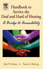 Handbook of Services for the Deaf and the Hard-of-Hearing: A Bridge to-ExLibrary