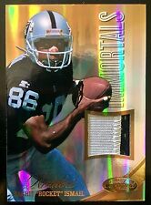 2012 Certified #212 Raghib Rocket Ismail 2 Color Patch Mirror Gold 23/49 Raiders