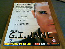 G I Jane (demi moore) A2 Movie Poster