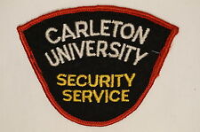 Canadian Carleton University Security Service Patch