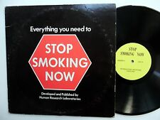 STOP SMOKING NOW Everything you need to LP spoken word