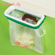 High quality Portable Plastic Door Garbage Sucker Trash Bag Can Rack Holder New