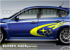 Subaru 005 Impreza rally side (medium size) decals stickers graphics