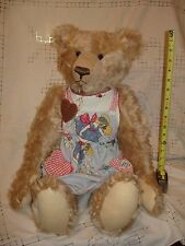 "Friday's Bear Large 26"" Jointed Mohair TEDDY BEAR Artist Original Trudy Maderos"
