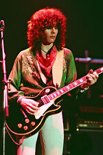 """12""""*8"""" concert photo of Brian Robertson, Thin Lizzy, playing at Wembley in 1978"""