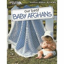 Leisure Arts Our Best Baby Afghans Book, New, Free Shipping