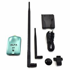 Alfa Network AWUS036NH Wireless N Adapter 2000mW + 9dBi Omni Antenna + U-Mount