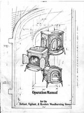 Manual for Vermont Casting Woodburner Stove - Defiant,Vigilant & Resolute