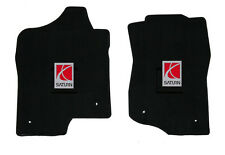 NEW! Black Floor Mats 2006-2008 Saturn Outlook Embroidered Logo, Both Front Set