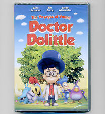 The Voyages of Young Doctor Dolittle DVD kids' movie 2010 Jane Seymour Tim Curry