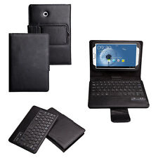 Bluetooth Keyboard Leather Case for Samsung Galaxy Tab 3 7 Inch 7.0 P3200 P3210