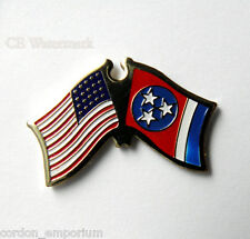 TENNESSEE UNITED STATES US STATE FLAG LAPEL PIN 1 INCH