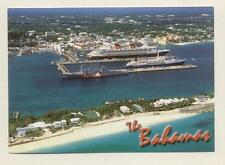 Cruise Ship Row . Premier's Ocean Breeze & Disney Wonder . Nassau, Bahamas Boat