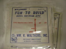 Walthers O and HO Scale Refrigarator Car Detals Reefer Door Latch C923