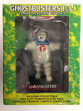 2008 GHOSTBUSTERS 1 & 2 DVD LIMITED EDITION GIFT SET STAY PUFT MARSHMALLOW MAN