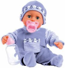 Bayer Design First Words Baby Talking Doll Outfit with Bottle and Pacifier (Lave