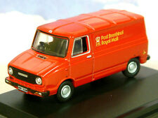 OXFORD DCST 1/76 LEYLAND SHERPA VAN ROYAL MAIL WALES RED POST BRENHINOL 76SHP001
