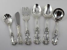 Reed & Barton Burgundy Sterling Silver - 6 Piece Serving Set - No Monograms