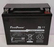 (1) FirstPower FPM20-12 For CTX20L-BS YB16CLB Batteries