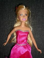 Sharpay Skipper Size HSM Doll ~ With Original Hot Pink Dress ~ No Shoes
