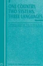 Current Issues in Language and Society Monographs: One Country, Two Systems,...