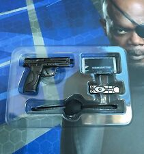 HOT TOYS 1/6 C AMERICA 2 WINTER SOLDIER MMS315 NICK FURY Pistol & Accessories
