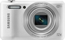 Samsung - WB35F 16.2-Megapixel Digital Camera - White