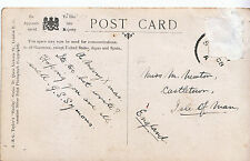 Genealogy Postcard - Family History - Newton - Castletown - Isle of Man   U2514