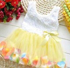 Baby tutu flower dress
