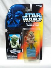 Kenner Star Wars Yoda Jedi Trainer The Power Of The Force Red Card Multilingual