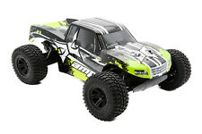 ECX AMP 1:10 2WD Monster Truck: Negro/Verde RTR RC Coche SPEKTRUM ECX03028IT2