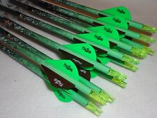 1 dozen Easton Flatline D.O.A. 400 custom carbon fletched arrows w/Blazers!!!