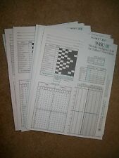 20 Wechsler Intelligence Scales for Children WISC III Response Record Forms