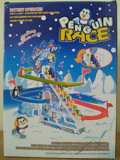 PENGUIN SKI TOURING RACE GAME WITH FLASHING LIGHTS + MUSIC  BATTERIES INCLUDED