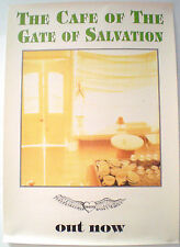 THE CAFE OF THE GATE OF SALVATION - 1992 -  ORIGINAL PROMO POSTER