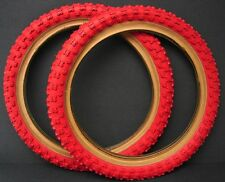 Vintage NOS Cheng Shin Red Bicycle Tires 16 x 2.125