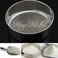 Stainless Steel Mesh Flour Sifting Sifter Sieve Strainer Cake Baking Kitchen O