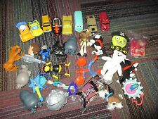 LARGE 29 PIECE LOT OF MCDONALD HAPPY MEAL TOYS, DISNEY CARS,TY,FUR REAL,SOME NIP