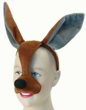 Noisy Kangaroo Mask With Sound FX Animal Fancy Dress Costume Accessory P5425