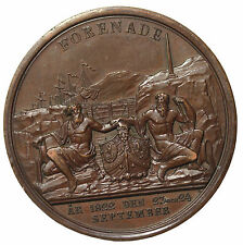 1822 Sweden Carl XIV Johan Opening Of The Western Gota Canal Medal By Loos