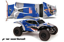 AMR RC Graphic Decal Sticker Kit Traxxas JCONCEPTS Short Course BAJR WARHAWK BLU