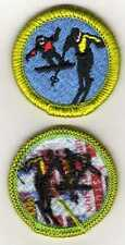 "Snow Sports Merit Badge, Type J ""Scout Stuff"" Back (2002-10), Mint"