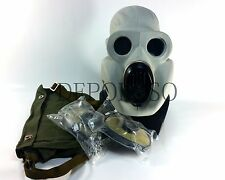 USSR military paratrooper gas mask EO-19 PBF Grey rubber mask with all equipment