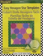 Omnigrid Come Quilt With Me Easy Hexagon Star Templates