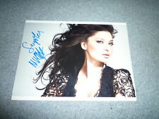 NURGÜL YESILCAY signed Autogramm In Person 20x25 TÜRKISCHER FILMSTAR Ask Kirmizi