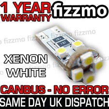 NO ERROR FREE CANBUS 8 SMD LED 6000K WHITE W5W T10 501 SIDE LIGHT INTERIOR BULB