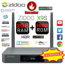 ZIDOO X9S Android 6.0 TV BOX Realtek RTD1295 + OpenWRT FULLY LOADED Media Player
