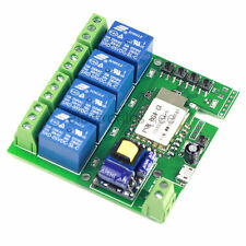 AC 220V WiFi Wireless Switch Relay Delay Module 4-way control for Smart Home